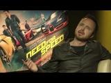 «Need for Speed: Жажда скорости» (2014): Интервью с создателями фильма (русский язык)